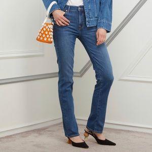 "7FAM ""The Straight"" Straight Leg Jeans"